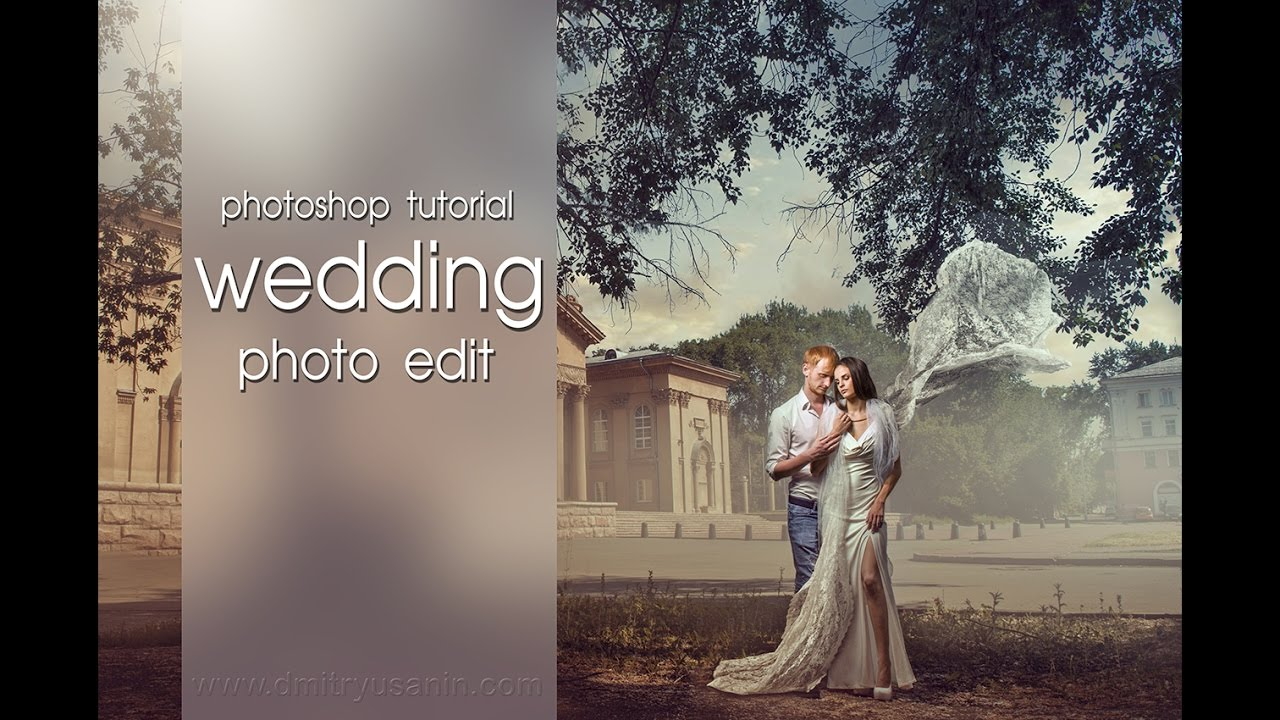 Photoshop editing for wedding