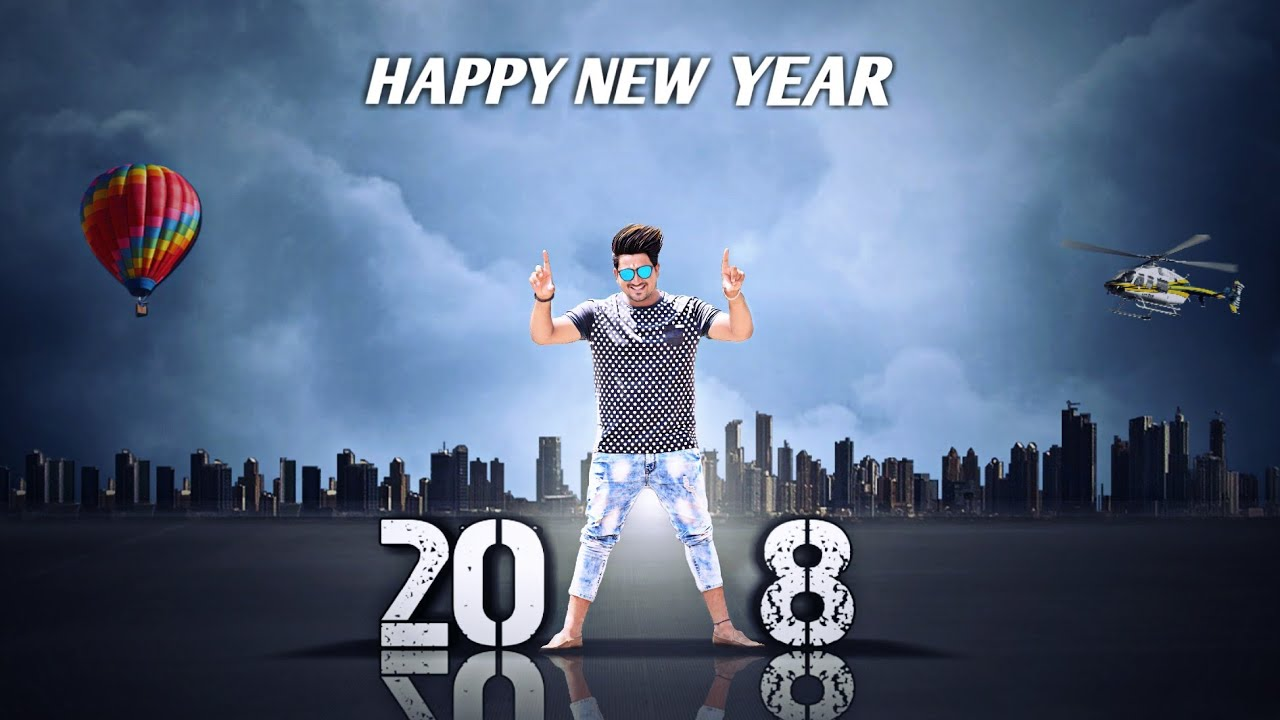 Happy New Year Editing Background 17